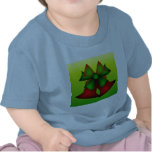 Christmas Bells I In Blue T-shirts