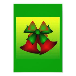 Christmas Bells I Invitations