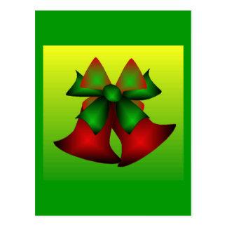 Christmas Bells I Postcard