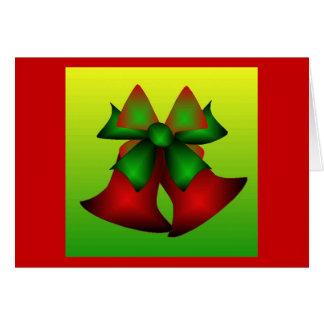 Christmas Bells II Greeting Card