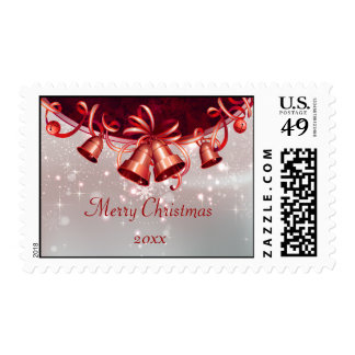 Christmas Bells in talk & Silver Postage