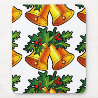 Christmas Bells Mouse Pad