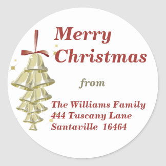 Christmas Bells Sticker - Large