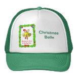 Christmas bells trucker hat