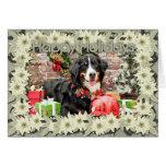 Christmas - Bernese Mountain Dog - Chloe Cards