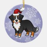 Christmas Bernese Mountain Dog Christmas Ornaments