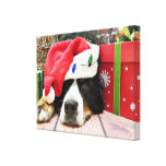Christmas - Bernese Mountain Dog - Mya Gallery Wrap Canvas