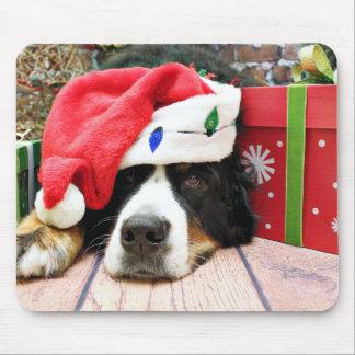 Christmas - Bernese Mountain Dog - Mya Mousepad