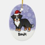 Christmas Bernese Mountain Dog Christmas Tree Ornament
