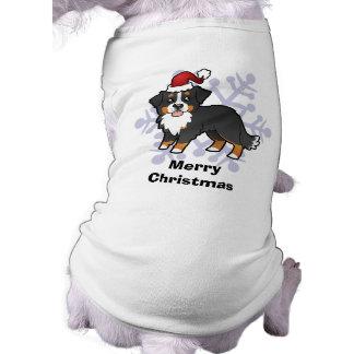 Christmas Bernese Mountain Dog Tee