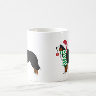 Christmas Bernese Mountain Holiday Dog Coffee Mug