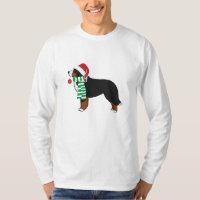 Christmas Bernese Mountain Holiday Dog T-Shirt