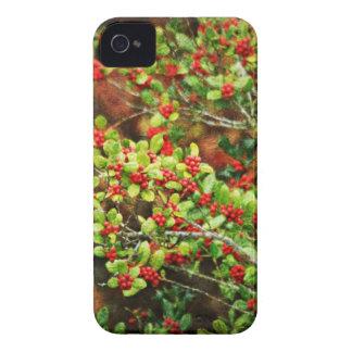 Christmas Berries iPhone 4 Case