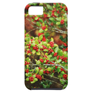 Christmas Berries iPhone 5/5S Cases