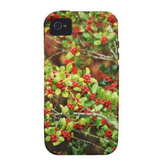 Christmas Berries iPhone 4 Cover