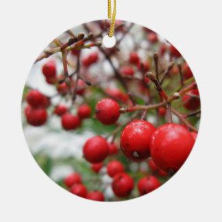 Christmas Berries Ornament