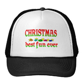 Christmas Best Fun Ever Hat