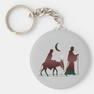 Christmas Bethlehem Art Key Chains