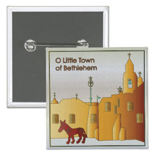 Christmas Bethlehem Button