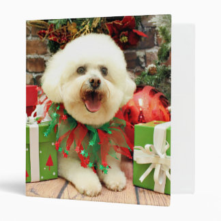 Christmas - Bichon Frise - Mori Vinyl Binders