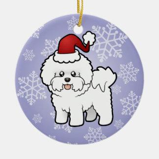 Christmas Bichon Frise Christmas Ornament