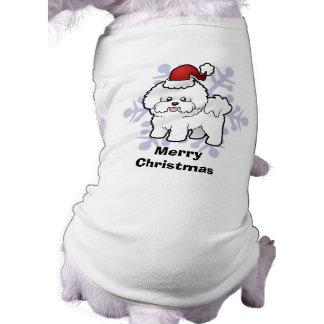 Christmas Bichon Frise T-Shirt