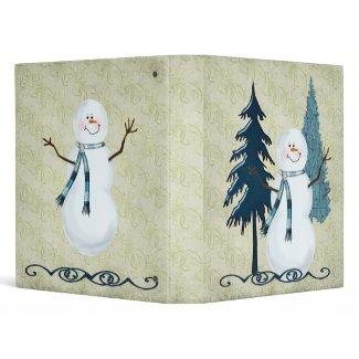 Christmas Binder binder