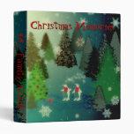 Christmas Binder Photograph Scrapbook