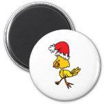 Christmas Bird Fridge Magnets