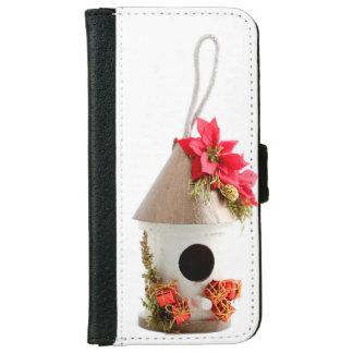 Christmas Bird House iPhone 6/6s Wallet Case