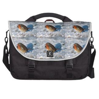 Christmas Bird Laptop Bags