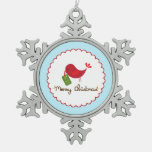Christmas Bird Ornament