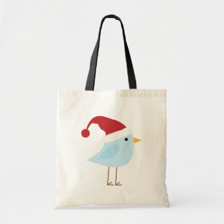 Christmas Bird Tote Bag