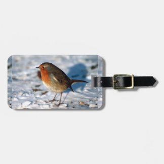 Christmas Bird Travel Bag Tags