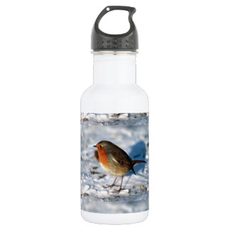 Christmas Bird Water Bottle