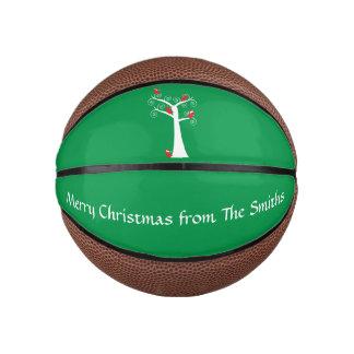 Christmas Birds in a Tree Basketball