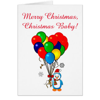 Christmas Eve Birthday Greeting Cards | Zazzle