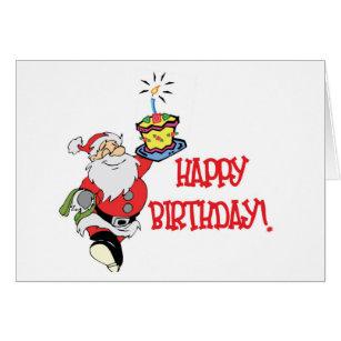 Christmas birthday cards greeting photo cards zazzle christmas birthday card bookmarktalkfo Images
