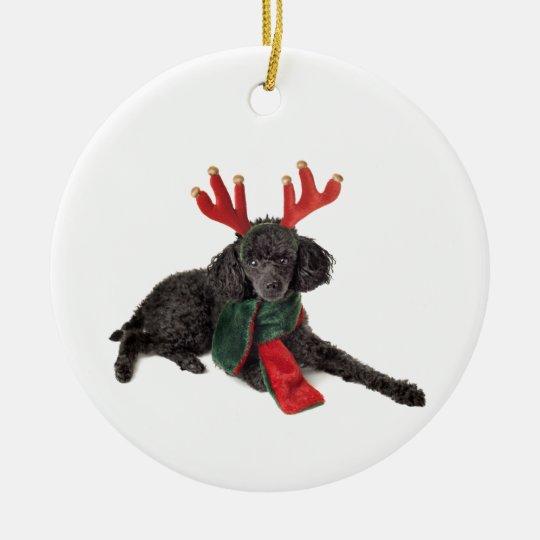 Chocolate Lab Ornament Christmas