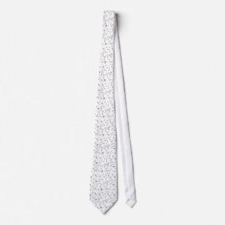 christmas black white doodle tie