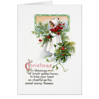Christmas Blessing Greeting Card