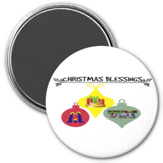 Christmas Blessing Magnet
