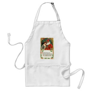 Christmas Blessings Adult Apron