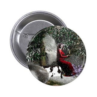 Christmas-Blessings Button
