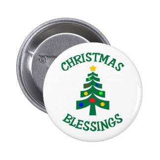 CHRISTMAS BLESSINGS BUTTONS