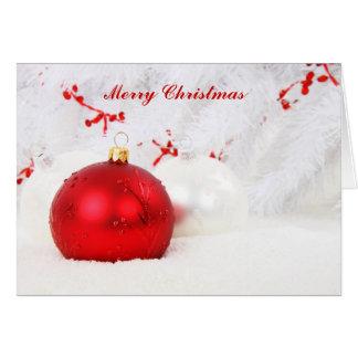 Christmas Blessings Card