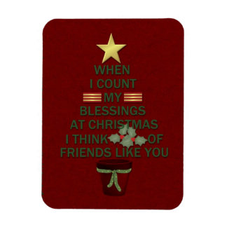 Christmas Blessings Magnet