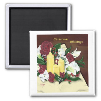 Christmas Blessings magnet