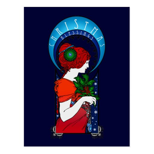 Christmas Blessings Post Cards