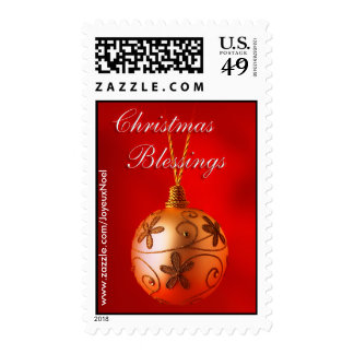 Christmas Blessings Postage